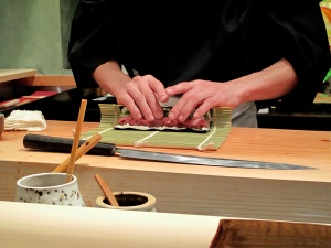 Urasawa - Hotate-toro maki - assembly 3