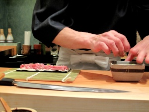 Urasawa - Hotate-toro maki - assembly 2