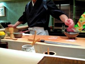 Urasawa - Hiro making negiri