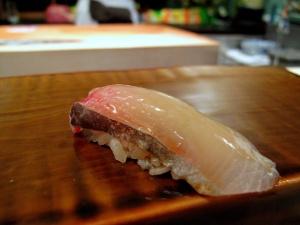Urasawa - Kanpachi nigiri