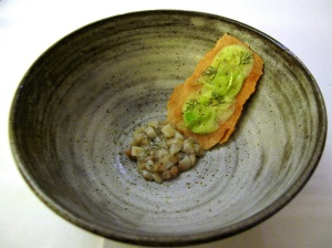 Coi - Abalone-Oyster; fennel in different forms
