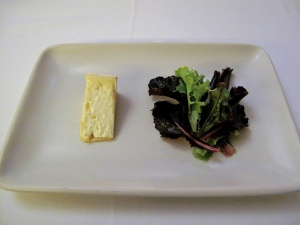 Coi - Cheeses - Trio (Soyoung Scanlan); toast, spring lettuces