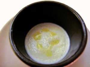 Coi - Petit Fours - McEvoy Olive Oil and Vanilla Milkshake