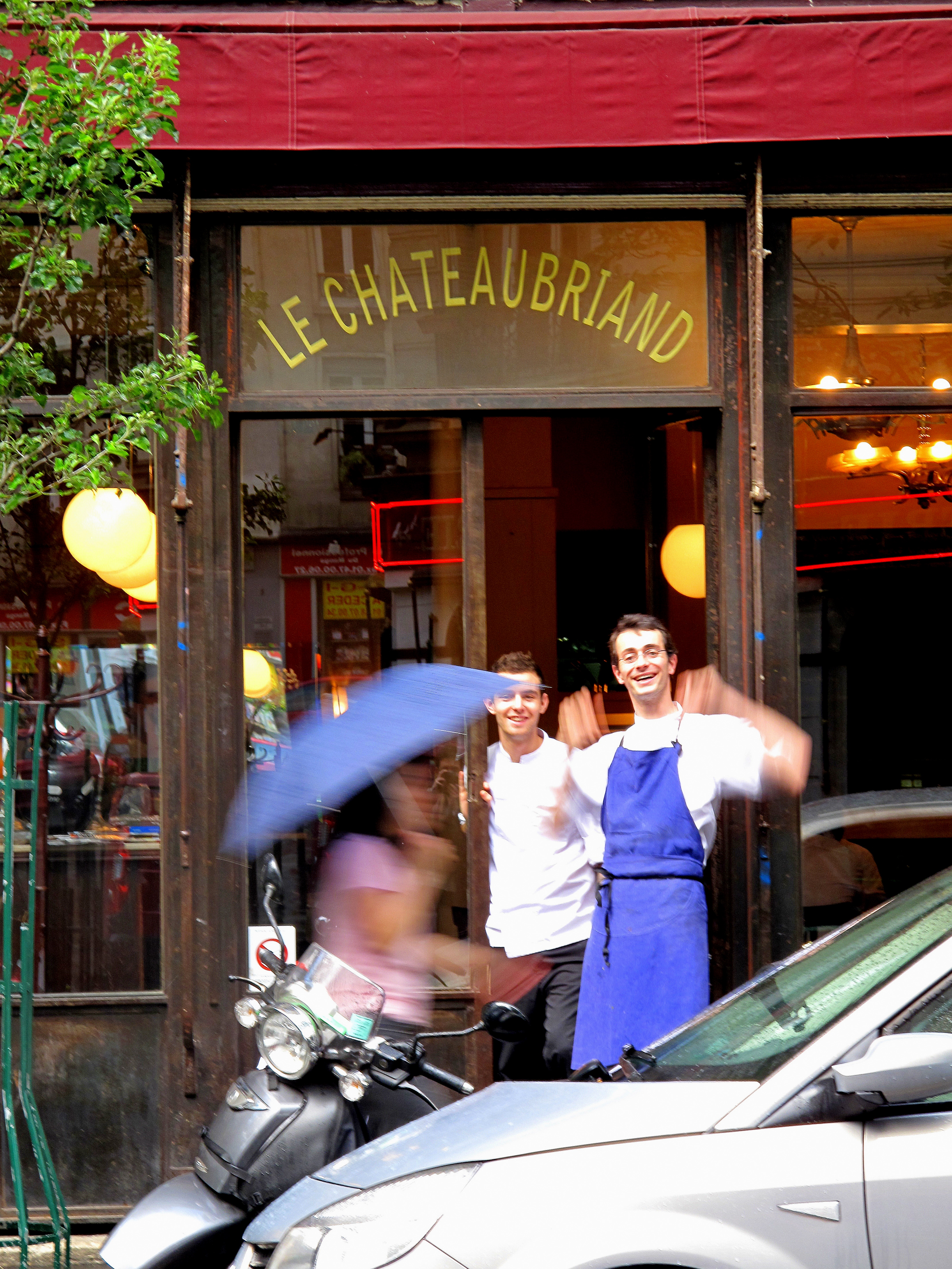 Le chateaubriand food snob for Le miroir resto paris