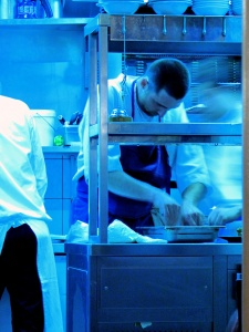 le Chateaubriand - la Cuisine
