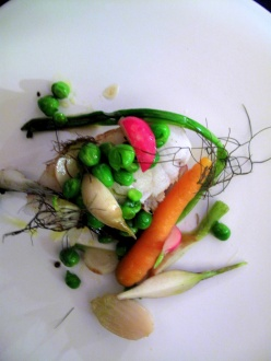 le Chateaubriand - lotte, jardinière de légumes 2