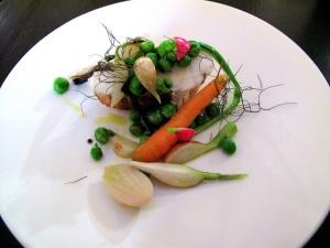 le Chateaubriand - lotte, jardinière de légumes