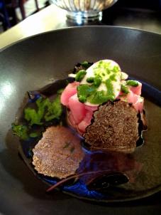 le Chateaubriand - veau de lait, langoustine, truffe d'été 2