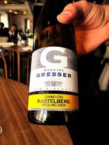 Noma - 2004 Riesling Kastelberg Grand Cru, Domain Gresser