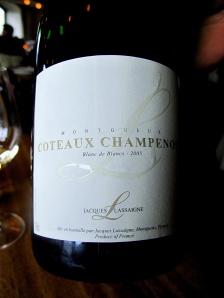 Noma - 2005 Coteaux Champenois Blanc de Blancs, Jacques Lassaigne, Montgueux