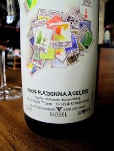 Noma - 2007 Riesling Auslese 'Madonna', Trossen