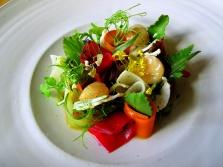 Noma - Marv og syltede grøntsager; Krydderurter og bouillon