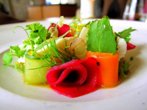 Noma - Marv og syltede grøntsager; Krydderurter og bouillon 3