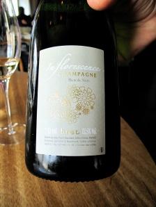 Noma - NV Champagne Brut Blanc de Noirs 'Inflorescence' (2005), Céderic Bouchard, Celles-sur-Ource