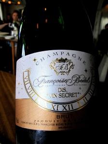 Noma - NV Champagne Brut Nature 'Dis, Vin Secret' 2003, Françoise Bedel, Crouttes-sur-Marne, Valle de la Marne