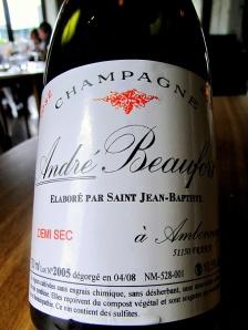 Noma - NV Champagne Rosé Demi-Sec (2005), Beaufort, Ambonnay, Valle de la Marne