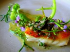 Noma - Pighvar og vegetabilsk stilke; Syltede hyldeblomst 3