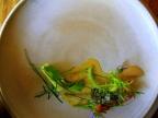 Noma - Pighvar og vegetabilsk stilke; Syltede hyldeblomst 2