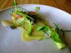 Noma - Pighvar og vegetabilsk stilke; Syltede hyldeblomst
