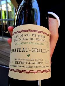 Pic - Eau de vie de Marc de Château Grillet