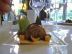 Pic - le Chevreau de la Drome; morceaux choisis confits longuement aux épices douces; mousseline d'oseille, fondant de kumquat au poivre Tifda - le Service 2
