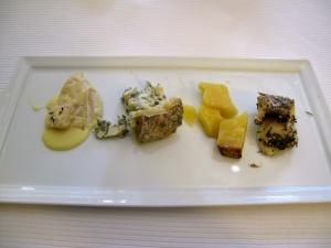 Pic - le Fromage - St Marcellin; Fourme d'Ambert; Comté; et Brin d'Amour