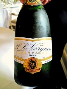 Søllerød Kro - Aperitif - J.L. Vergnon Champagne - Blanc de Blancs Grand Cru Brut