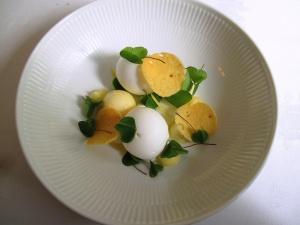 Søllerød Kro - Citron med skovsyre og hvid chokolade