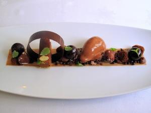 Søllerød Kro - Felchlin-chokoladedesser