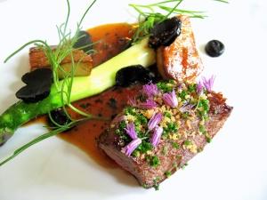 Søllerød Kro - Foie gras – Dyrekød 2