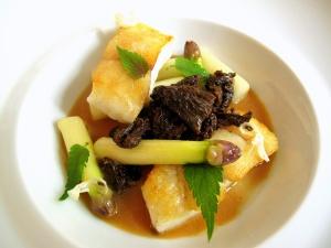 Søllerød Kro - Pighvar – Morkler – Hvide asparges 2