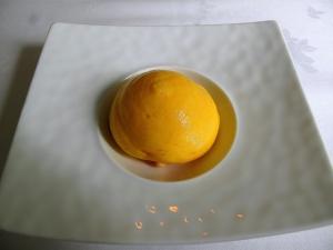Søllerød Kro - Pre-desert - Karotte – Sorbet – Havtornbær