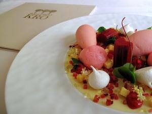 Søllerød Kro - Rabarber, hyldeblomst og vanilje