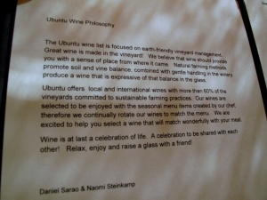 Ubuntu - Wine Philosophy