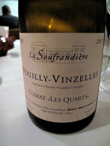 In de Wulf - Brett Brothers, Pouilly-Vinzelles 'Les Quarts', 2003