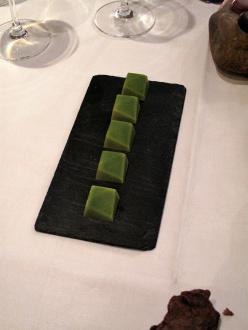 In de Wulf - Mignardises - Truffes au chocolat et frais des bois – tous 6