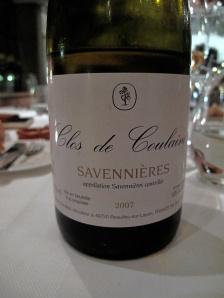 In de Wulf - Savennières, Clos de Coulaine, Claude Papin, 2007