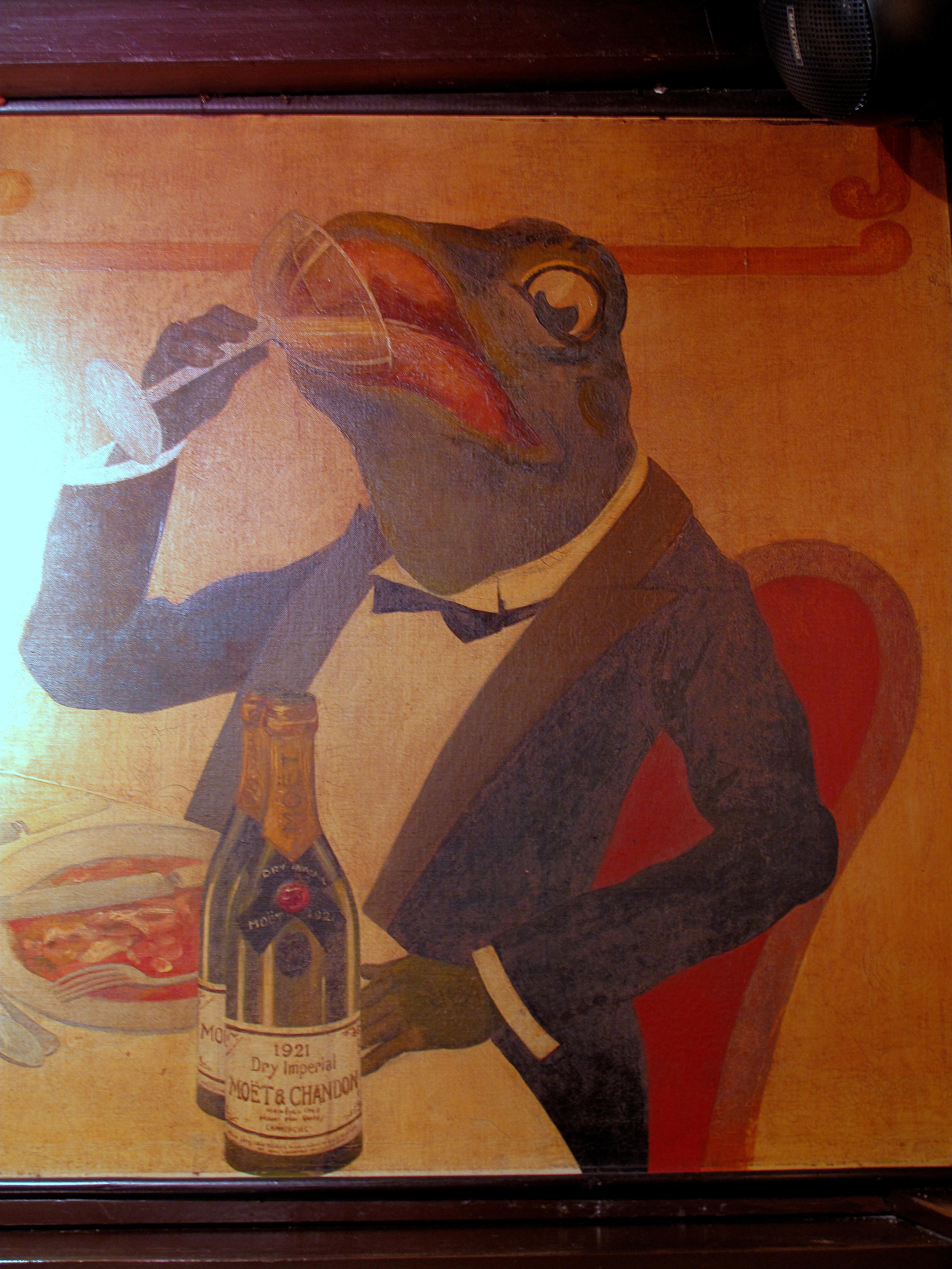La grenouill re food snob for La grenouillere
